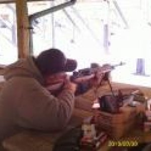 Me shooting My M21 @ Mcmiller 2-9-10
